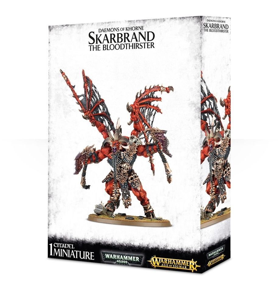 Games-Workshop Skarbrand The Bloodthirster