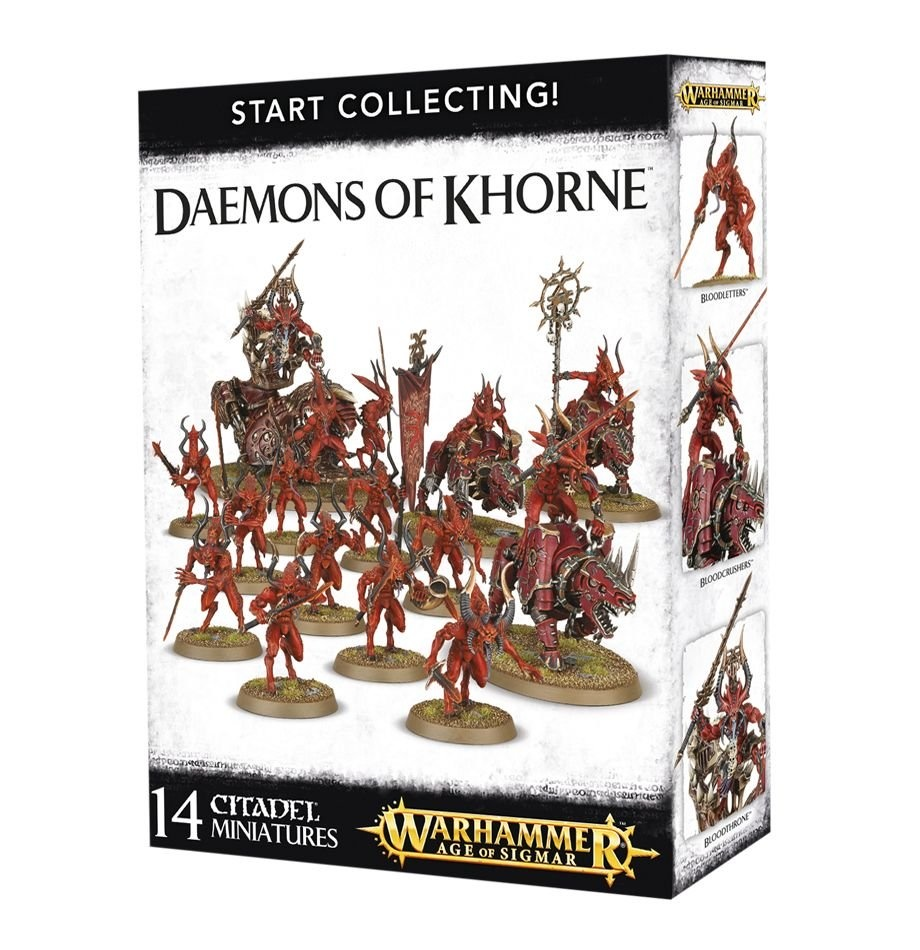 Games-Workshop Start Collecting! Daemons Of Khorne