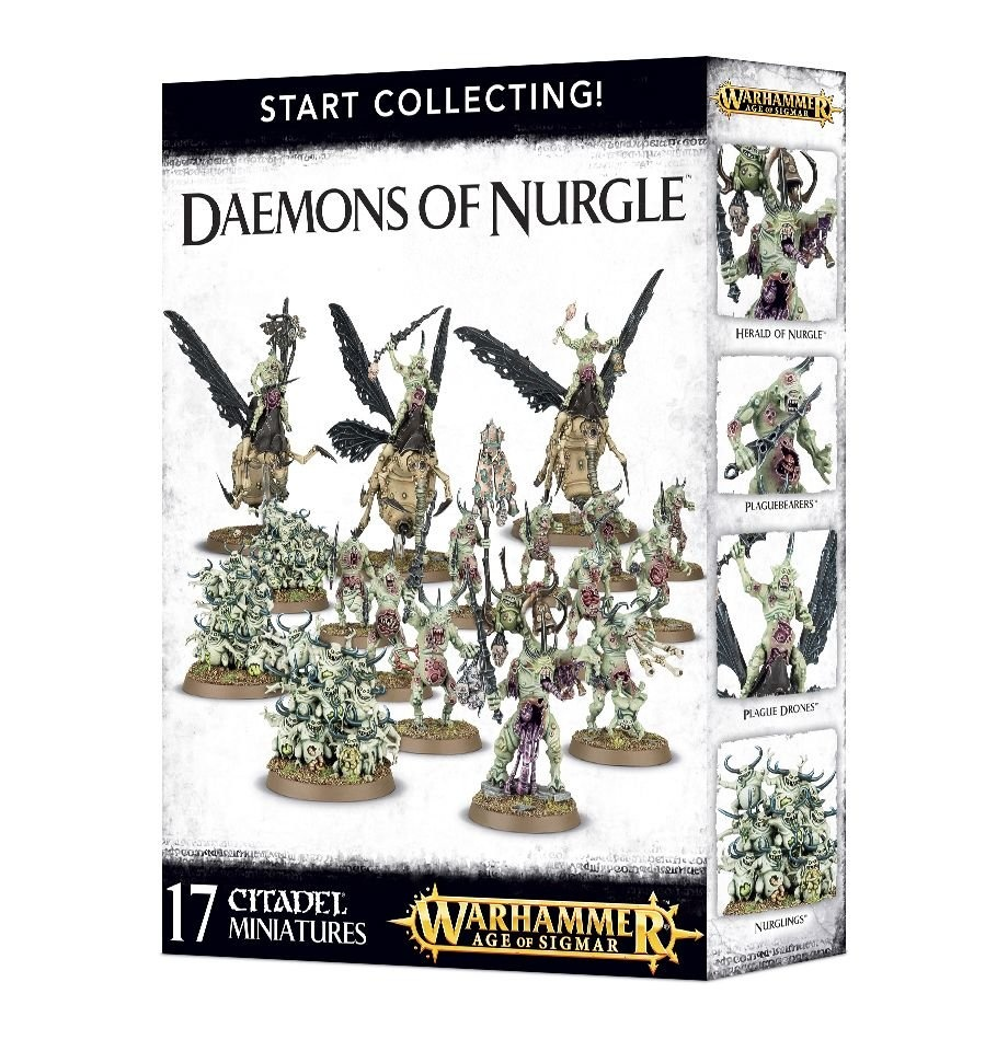 Games-Workshop Start Collecting! Daemons Of Nurgle