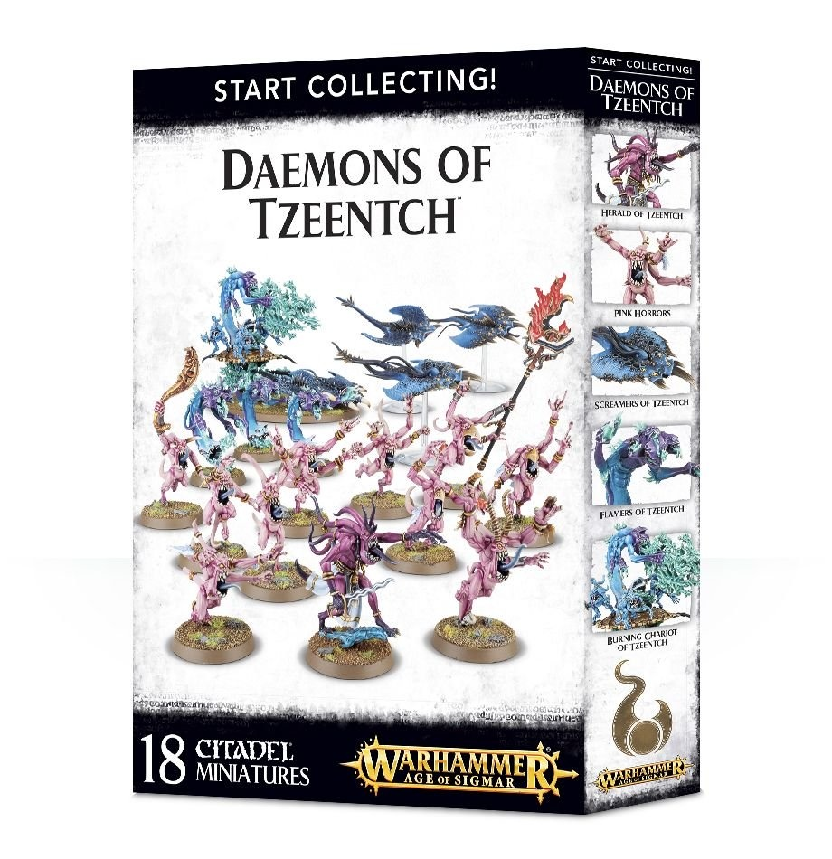 Games-Workshop Start Collecting! Daemons Of Tzeentch