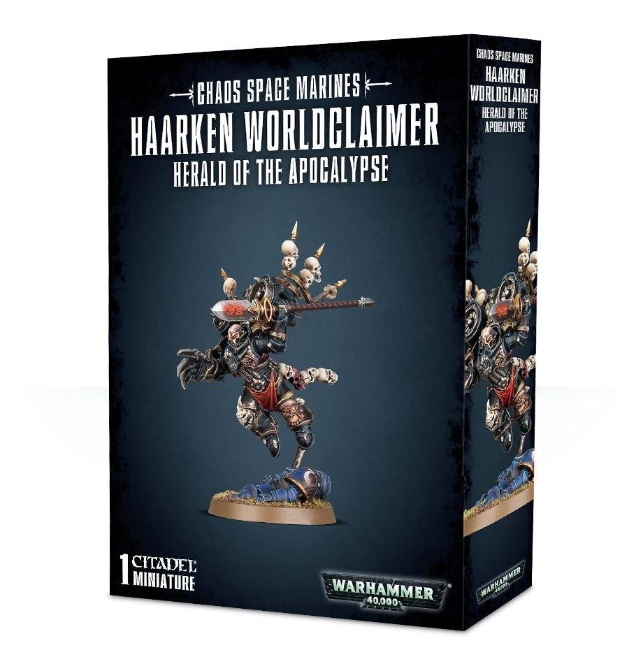 Games-Workshop Chaos Space Marines: Haarken Worldclaimer
