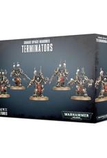 Games-Workshop Chaos Space Marine Terminators
