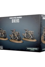 Games-Workshop Chaos Space Marines Bikers