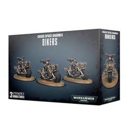 Games-Workshop Chaos Space Marines Bikers