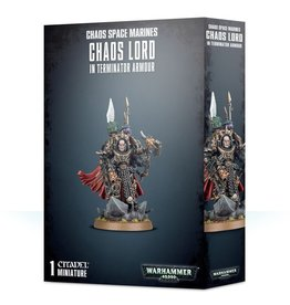 Games-Workshop Chaos Space Marines Chaos Lord in Terminator Armour
