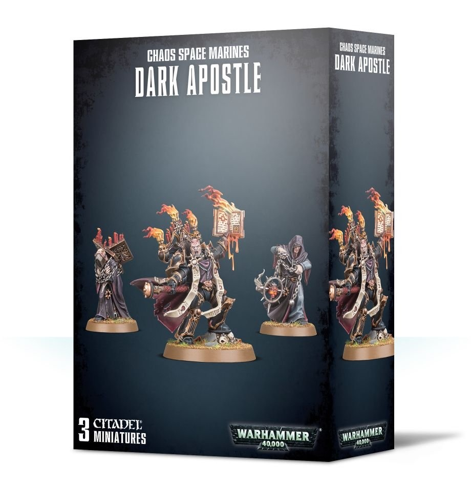 Games-Workshop Chaos Space Marines Dark Apostle