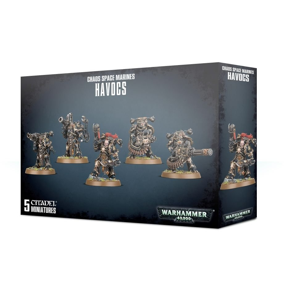Games-Workshop Chaos Space Marines Havocs
