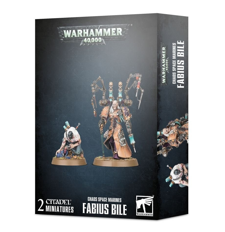 Games-Workshop Chaos Space Marines: Fabius Bile