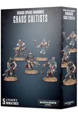 Games-Workshop Easy to Build: Chaos Space Marines Chaos Cultists