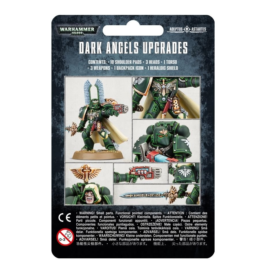 Games-Workshop Dark Angels Upgrades