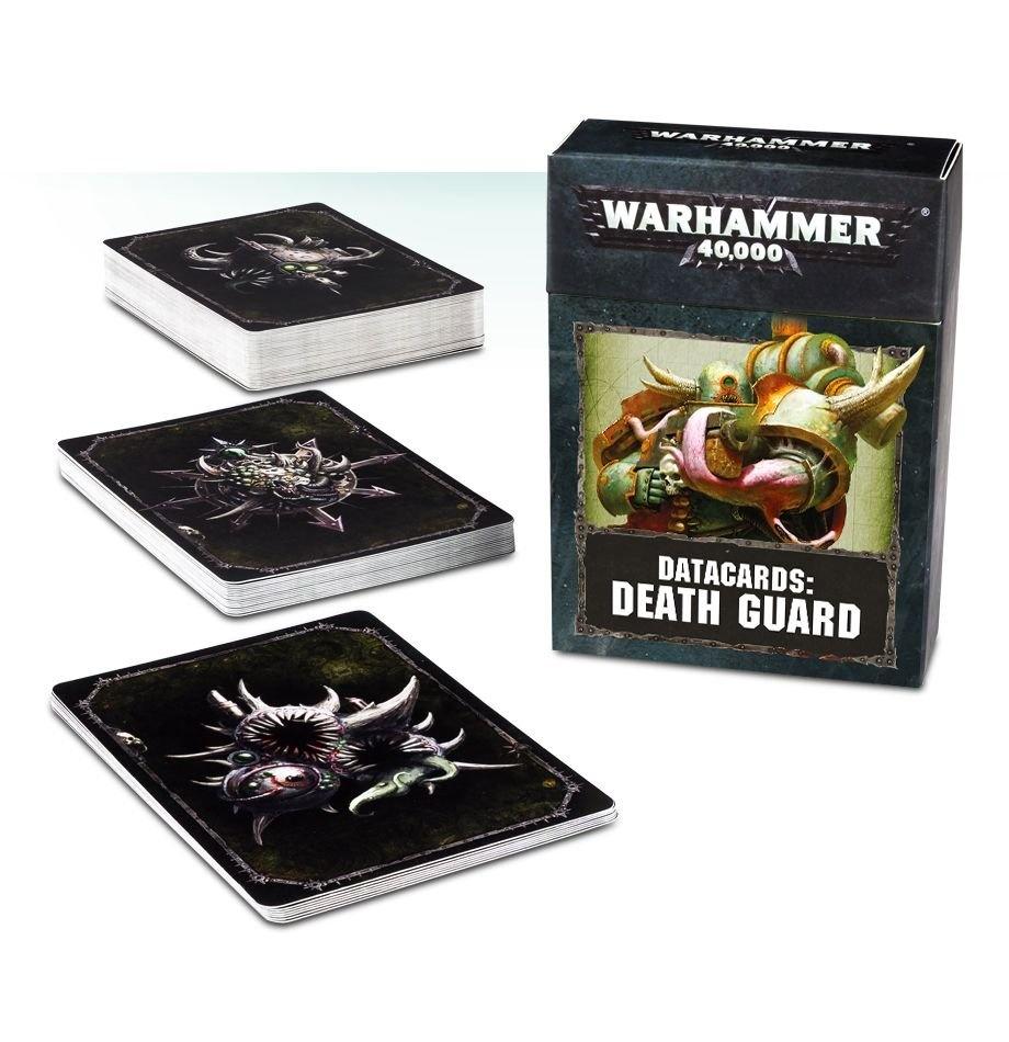 Games-Workshop Datacards: Death Guard (English)