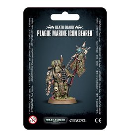 Games-Workshop Death Guard Plague Marine Icon Bearer
