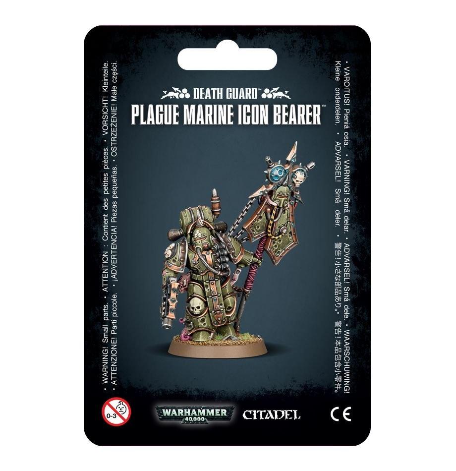 Games-Workshop Death Guard Plague Marine Icon Bearer