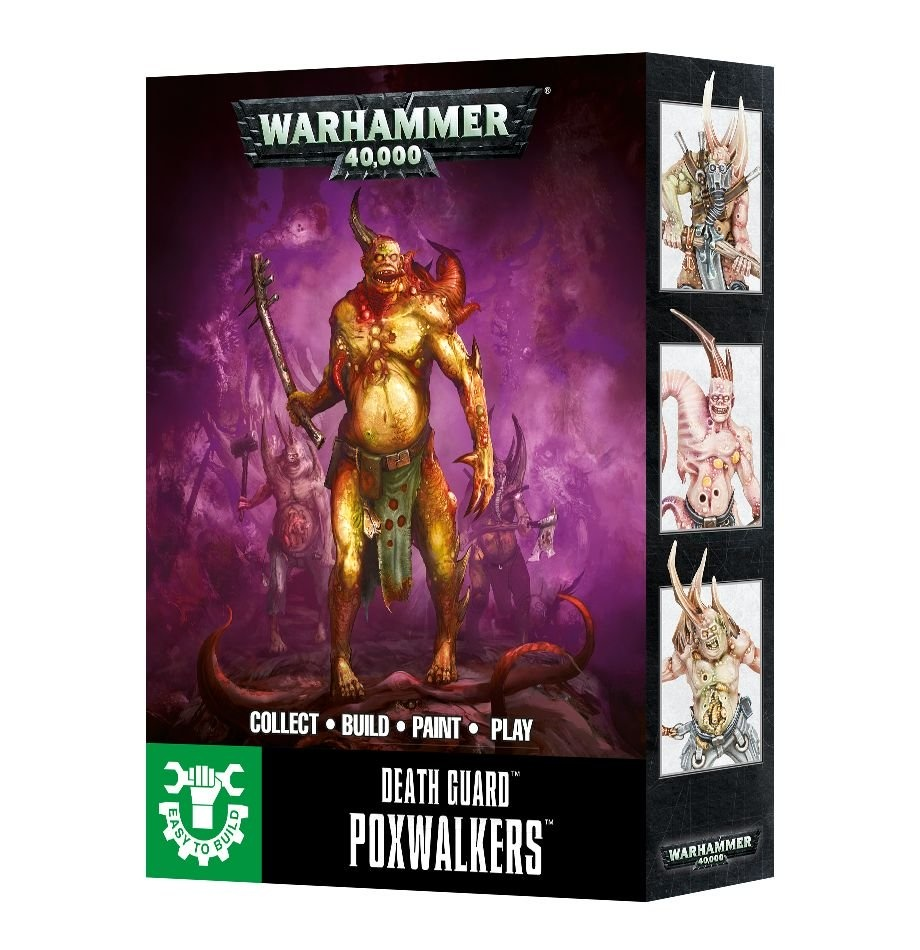 Games-Workshop Easy To Build Death Guard Poxwalkers