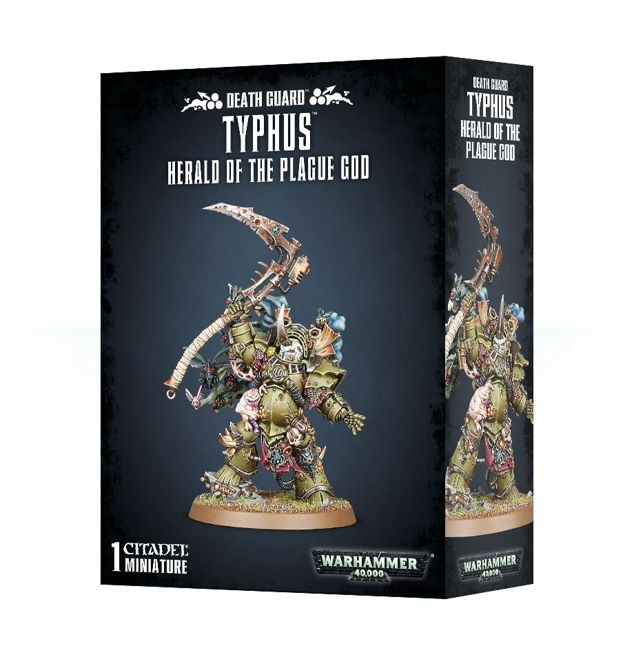 Games-Workshop Typhus: Herald Of The Plague God