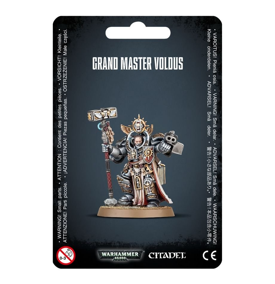 Games-Workshop Grey Knights Grand Master Voldus