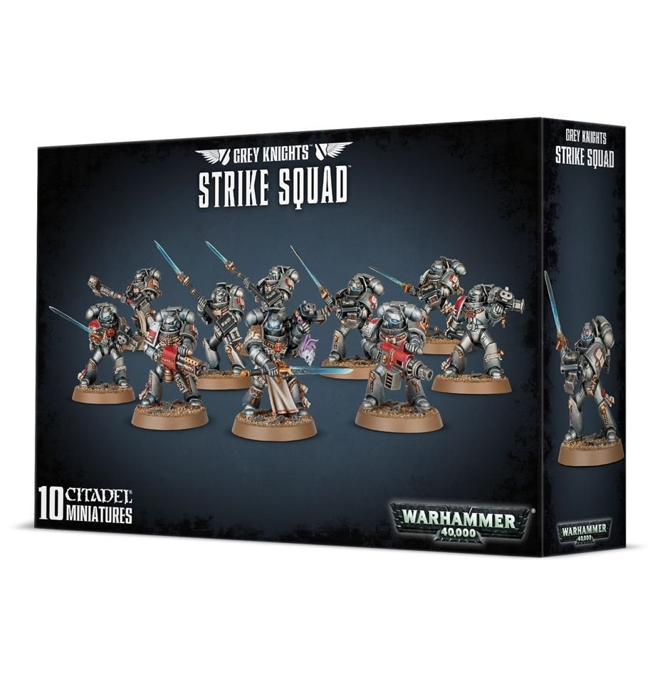 Games-Workshop Grey Knights Strike Squad