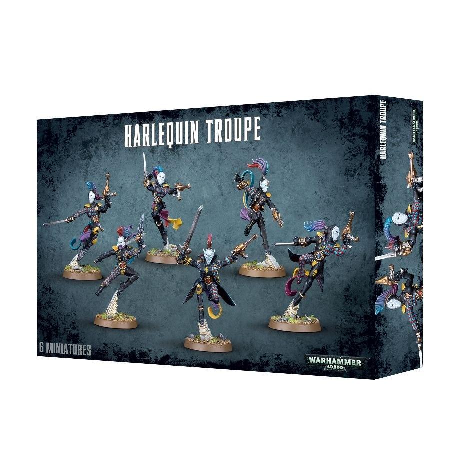 Games-Workshop Harlequin Troupe