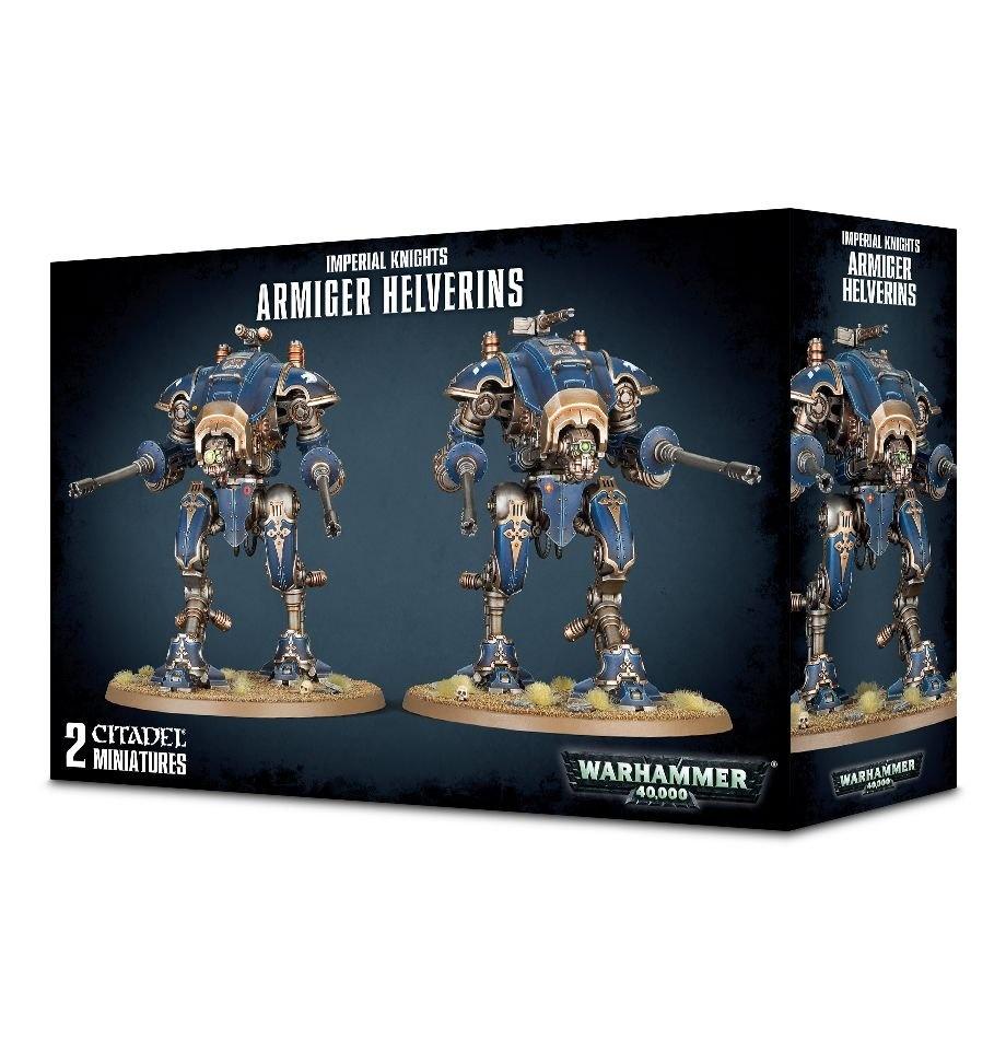 Games-Workshop Imperial Knights Armiger Helverins