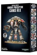 Games-Workshop Knight Preceptor Canis Rex