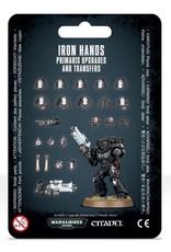 Games-Workshop Iron Hands Primaris Upgrades & Transfers