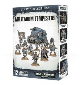 Games-Workshop Start Collecting! Militarum Tempestus