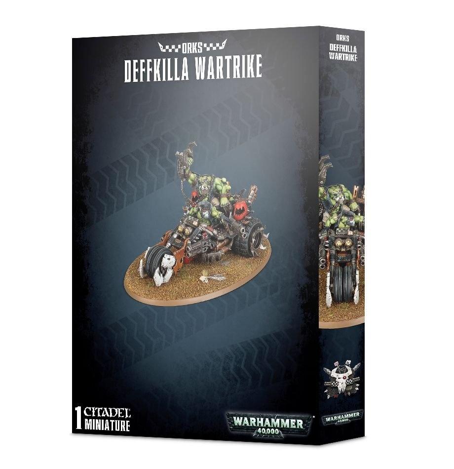 Games-Workshop Orks Deffkilla Wartrike