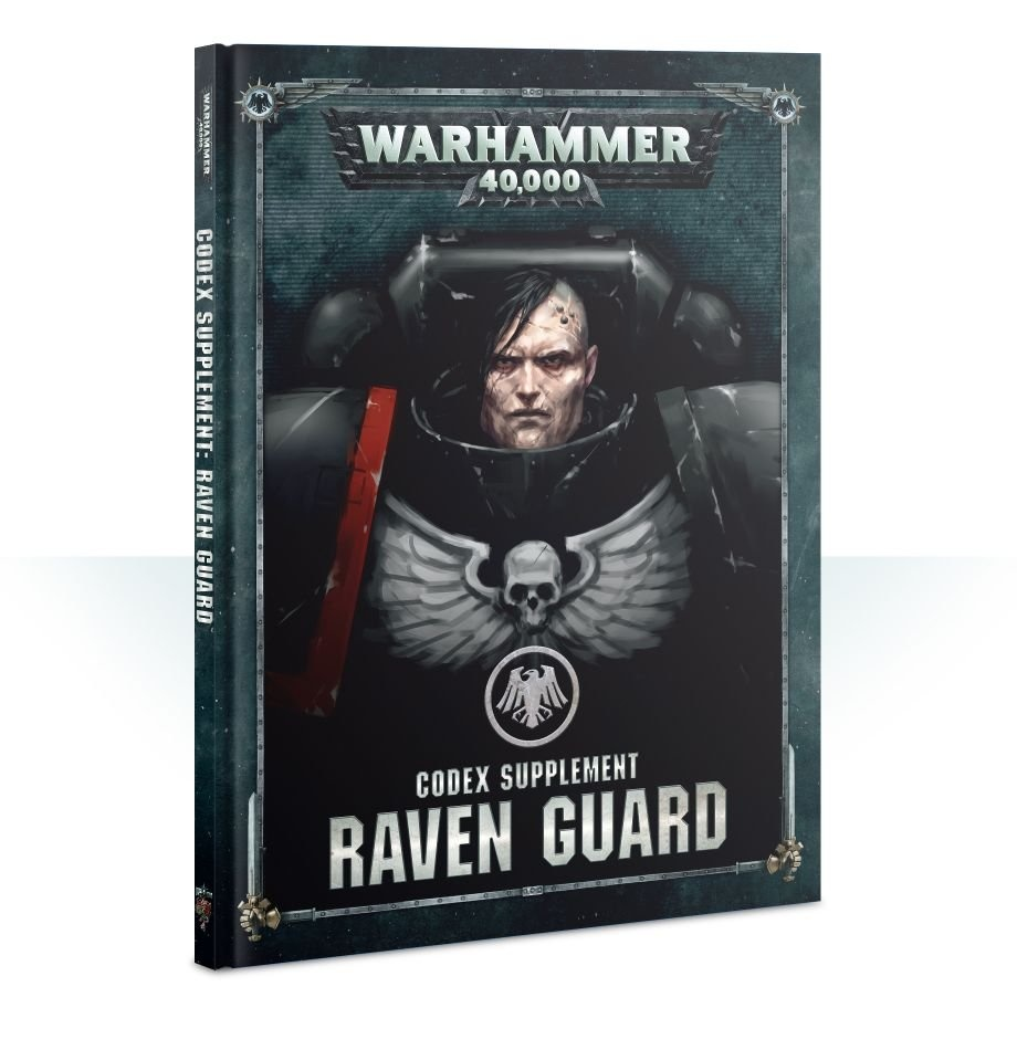 Games-Workshop Codex: Raven Guard (English)