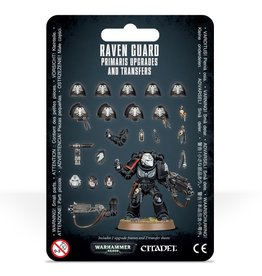 Games-Workshop Raven Guard Primaris Upgrades & Transfers