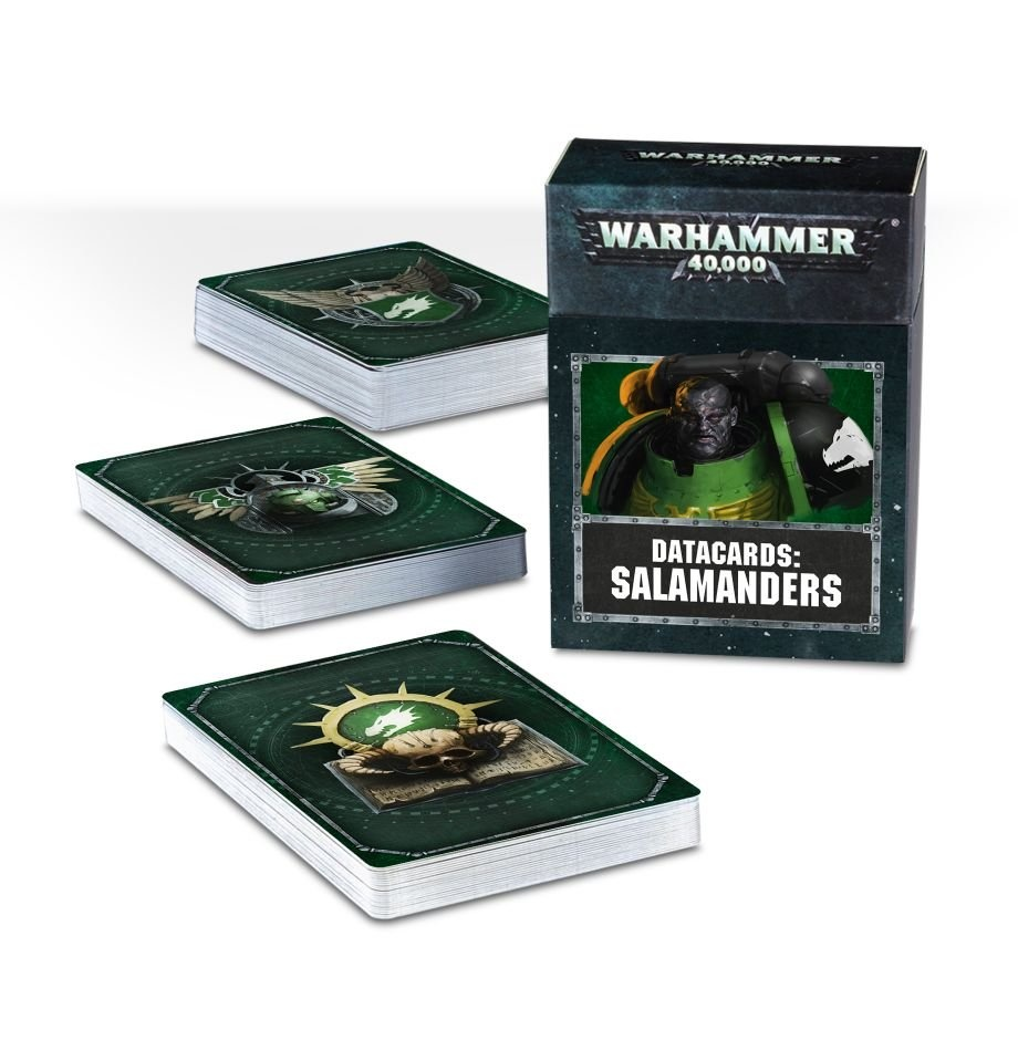 Games-Workshop Datacards: Salamanders (English)