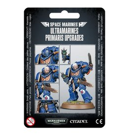 Games-Workshop Space Marine Ultramarines Primaris Upgrades