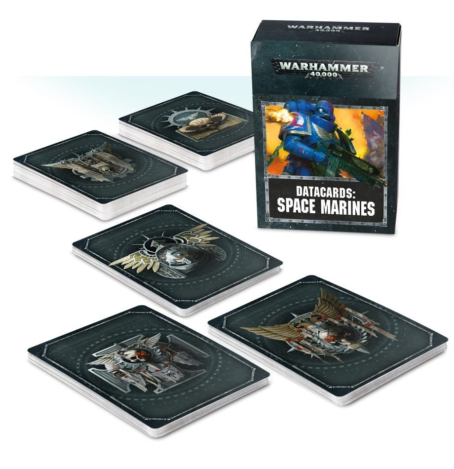 Games-Workshop Datacards: Space Marines (English)