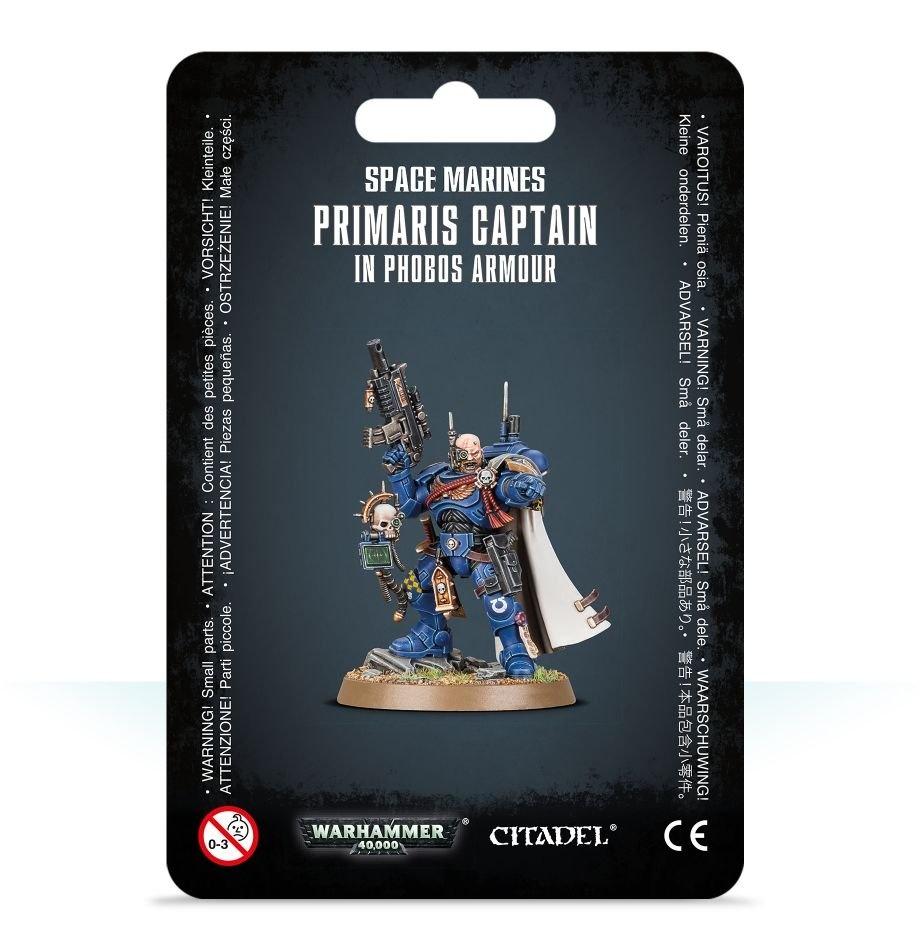 Games-Workshop Primaris Captain In Phobos Armour