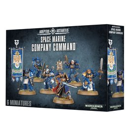 Games-Workshop Space Marine Company Command