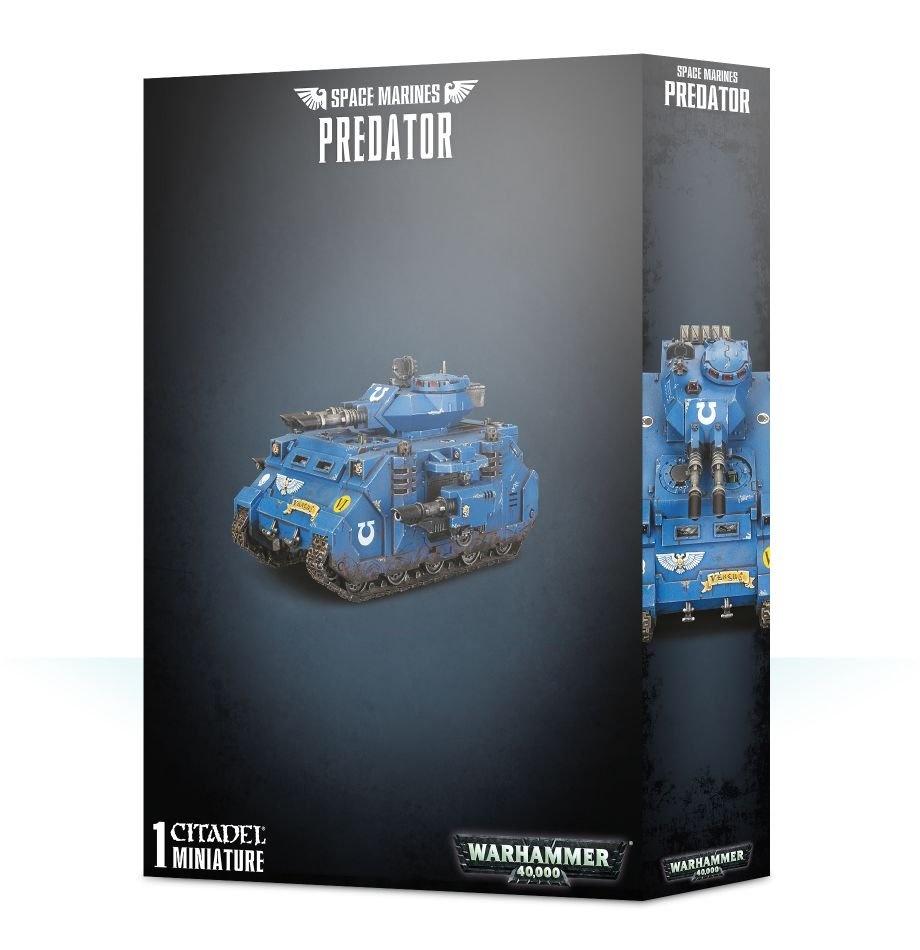 Games-Workshop Space Marines Predator