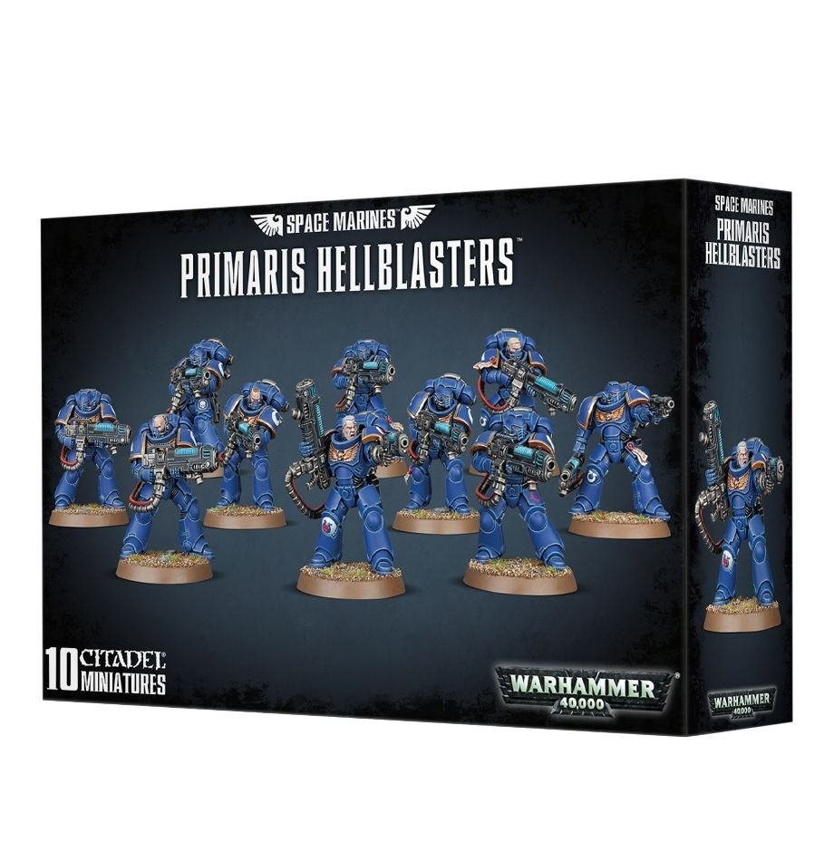 Games-Workshop Space Marines Primaris Hellblasters