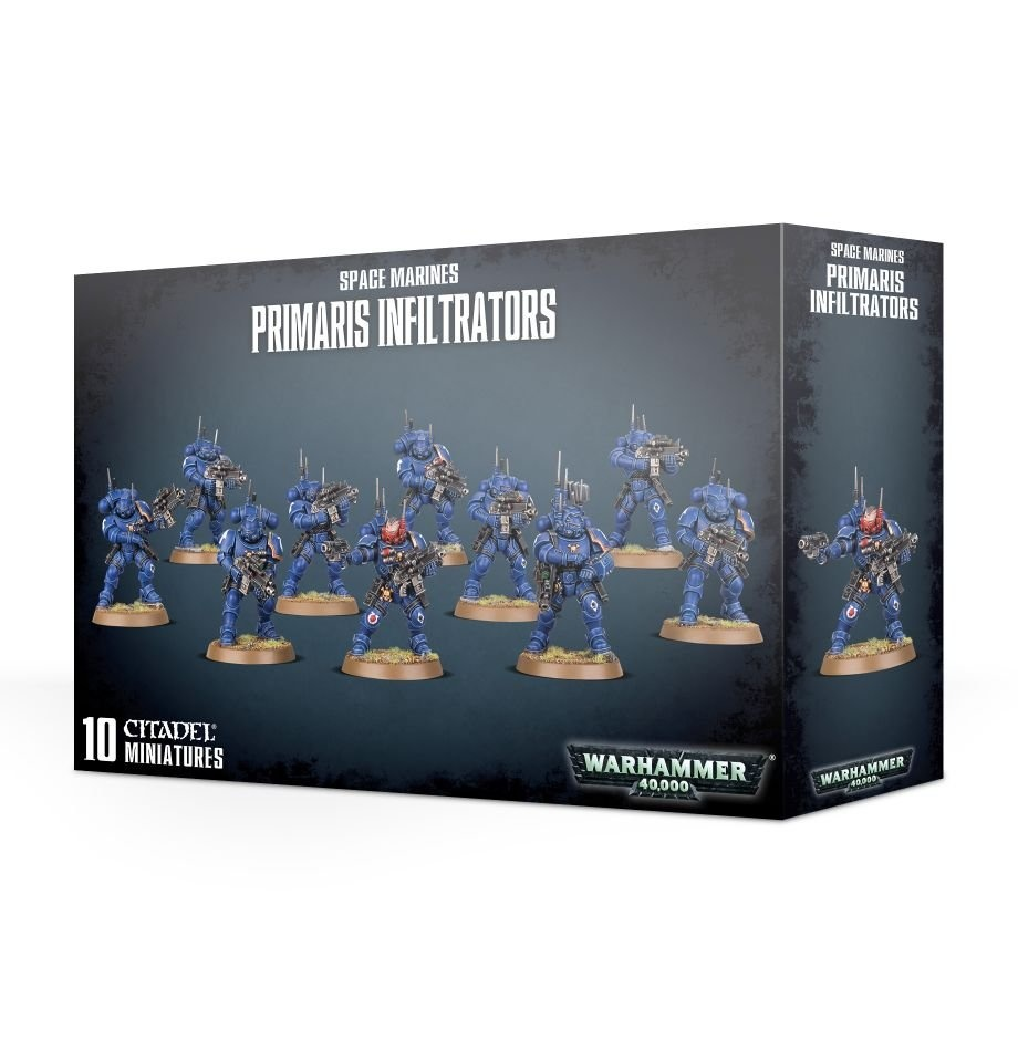 Games-Workshop Space Marines Primaris Infiltrators