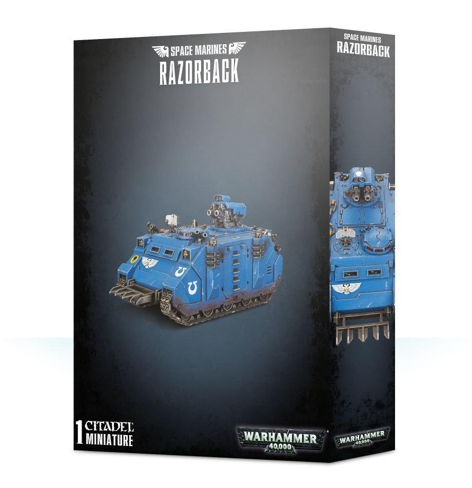 Games-Workshop Space Marines Razorback