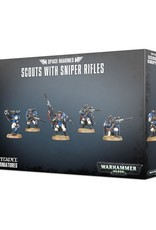 Games-Workshop Space Marines Scouts With Sniper Rifles