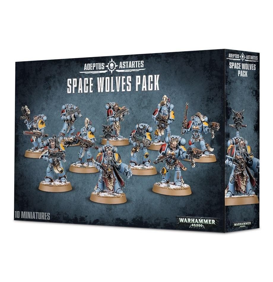 Games-Workshop Space Wolves Pack