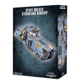 Games-Workshop Space Wolves Stormfang Gunship