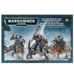 Games-Workshop Space Wolves Thunderwolf Cavalry