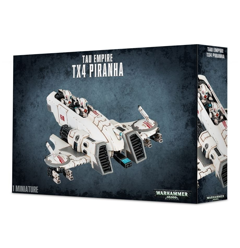Games-Workshop Tau Empire Tx4 Piranha