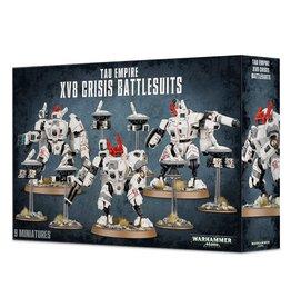 Games-Workshop Tau Empire XV8 Crisis Battlesuits