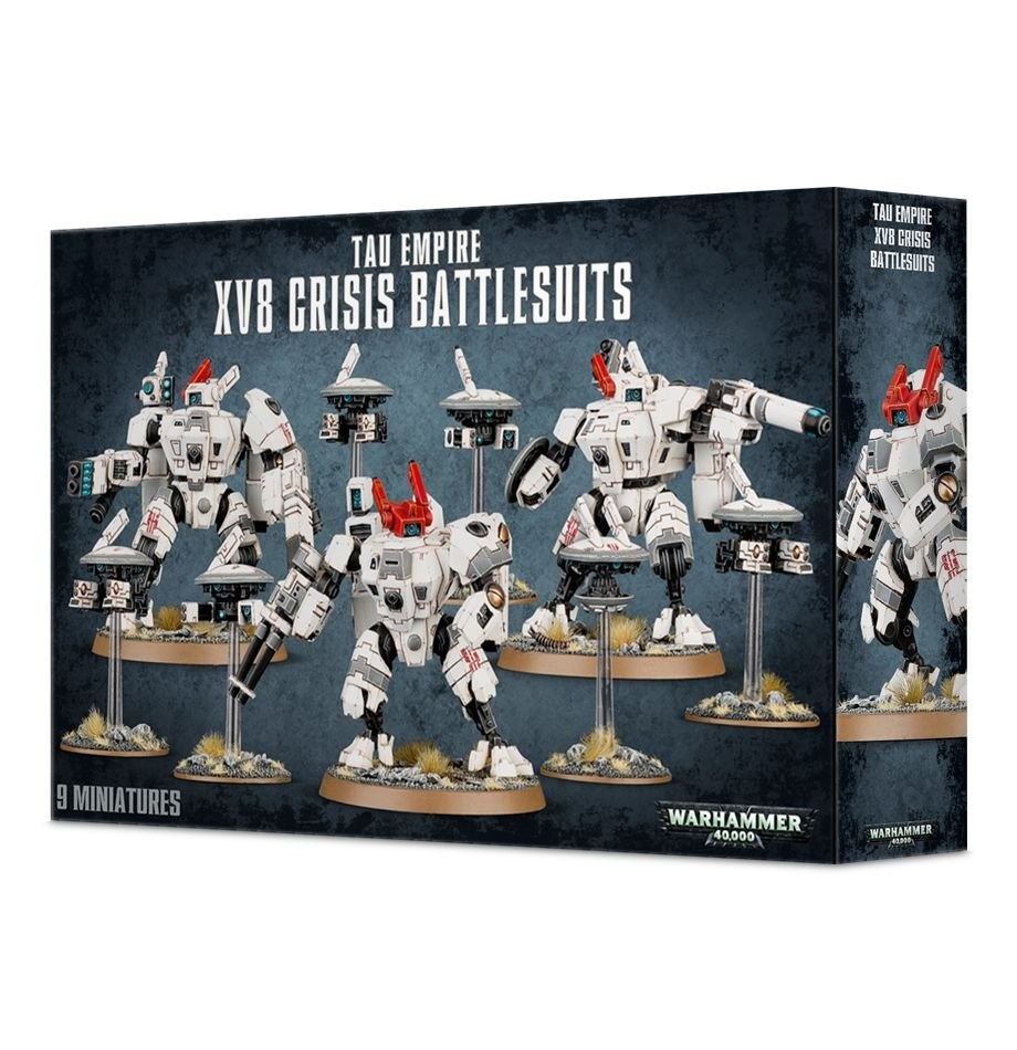 Games-Workshop Tau Empire XV8 Crisis Battlesuits