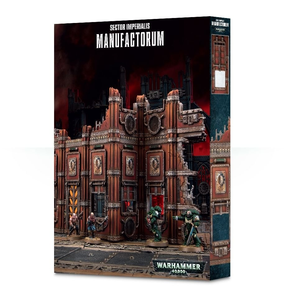 Games-Workshop Sector Imperialis: Manufactorum