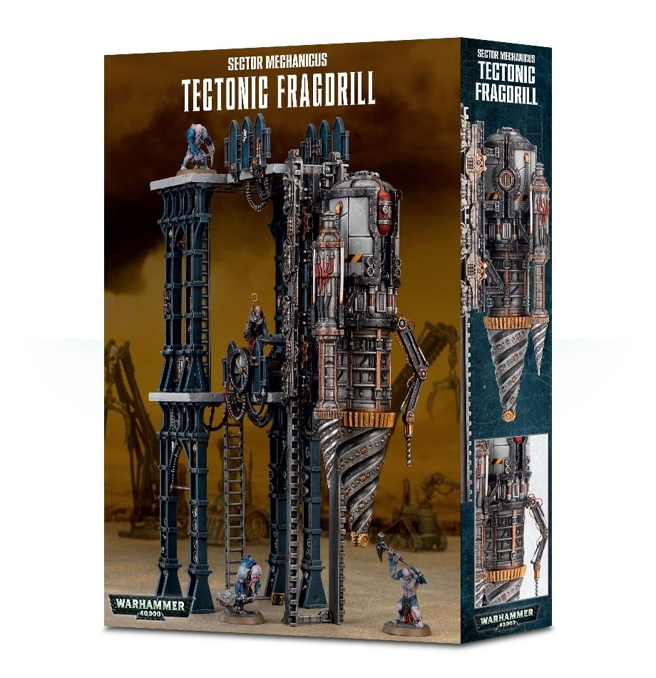 Games-Workshop Sector Mechanicus Tectonic Fragdrill