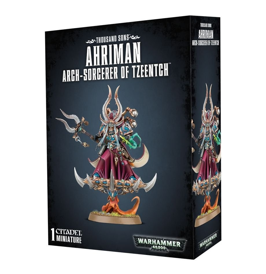 Games-Workshop Ahriman Arch-Sorcerer Of Tzeentch