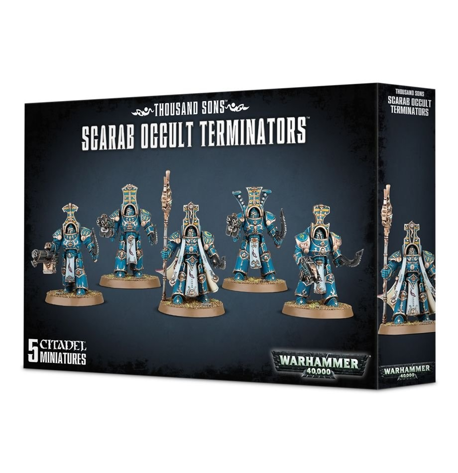 Games-Workshop Thousand Sons Scarab Occult Terminators