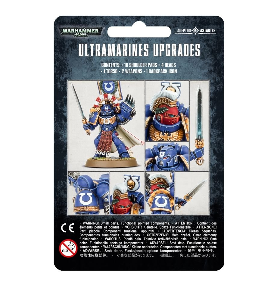 Games-Workshop Ultramarines Upgrades